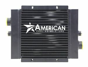 Mobile Hydraulic Oil Cooler, 0-60 GPM, 20HP; Model OC-62 With or Without Bypass
