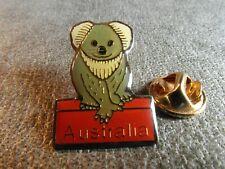 Rare Pins Pin'S - Koala In Australia - Animal - Herbivorous Arboreal Mammal
