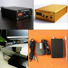 FM transmitter Digital Radio Station 1mw PLL Stereo wireless audio mp3 DC9-13.8V