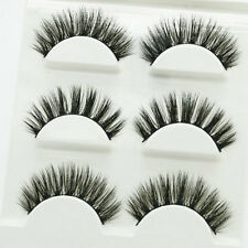 new Handmade 100% Real Mink Luxurious Natural Thick Soft Lashes False Eyelashes