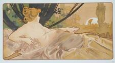 Mucha Foundation Dawn Limited Edition Fine Art Lithograph COA S2