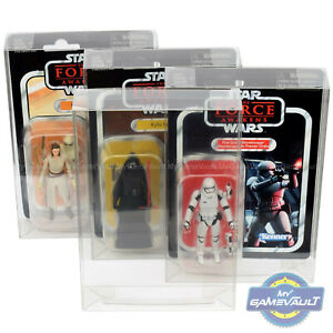 """Star Wars DISPLAY CASE for Vintage Collection 3.75"""" Figure 0.5 PET Protector Box"""