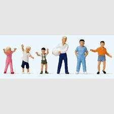 Bambini che giocano a palla - Art. preiser 14120