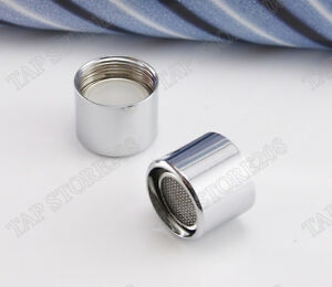 Tap Aerator 22mm Female chrome plated brass - spout end diffuser filter