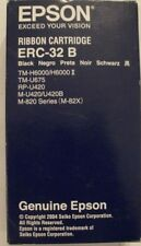 Epson ERC-32 B ERC32B BLACK original pour TM-H6000/U675/RP-U420/M82x genuine