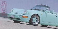 Prospekt-Anforderungskarte TechArt Porsche 1994, card, carte