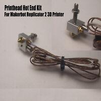 Druckkopf-Hotend-Kit mit Heizrohr für den Makerbot Replicator 2 3D-Drucker