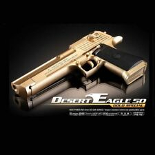 ACADEMY Desert Eagle 50 Gold Special Airsoft Pistol BB Gun 6mm Hand Grips Toy