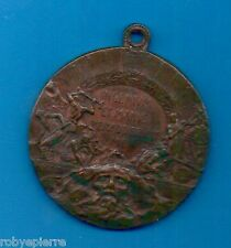 """Medaglia di bronzo 1906 tunnel del Sempione """"Ingenium et manus perfoderunt me"""""""