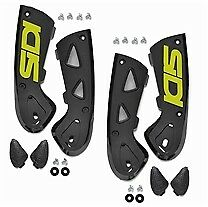 SIDI VORTICE MOTORCYCLE BOOTS ANKLE SUPPORT BRACES-FLUO 39-44 PAIR (81)