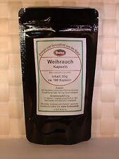 Weihrauch-Kapseln (Boswellia serrata) 90g ca.180 Kapseln a´500mg  OVP     #5319