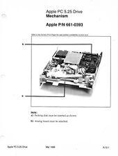 Dealer Tech Sheet - Apple PC 5.25 Drive - PN 661-0393 , Mar 1989
