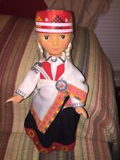 Vintage Large Russian Plastic Doll 18� Pick tails