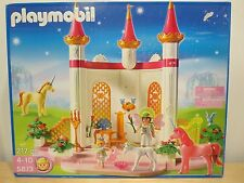 NEW PLAYMOBIL Fairytale Castle 5873 Unicorn Fairy Palace Queen Princess Pink NIB