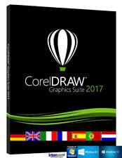 CorelDraw Graphics Suite 2017 Vollversion VBA Cliparts Schulversion Download NEU