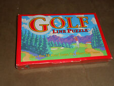 Binary Arts Golf Course Cart Path Line Puzzle - Brand NEW, Sealed