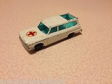 Husky Mettoy Vintage Diecast #30 1960s Studebaker Wagonaire Ambulance 1:64 Scale