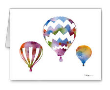 Balloons Note Cards With Envelopes