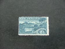 New Zealand 1898 2½d blue SG250 G-FU