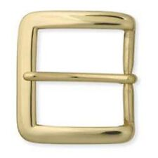 "Square Heel Bar Buckle Solid Brass 1-1/2"" 1550-01"