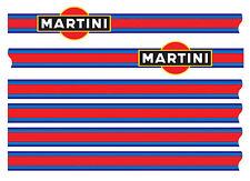 MARTINI LE MANS DECAL STRIPE KIT