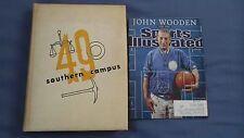 VERY RARE 1949 UCLA Yearbook John Wooden Rookie Year, Bert Fields & Bonus