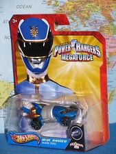HOT WHEELS POWER RANGERS MEGA FORCE BLUE RANGER SHARK ZORD **BRAND NEW & RARE**