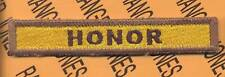 """825th Armored """"HONOR"""" TANK DESTROYER TAB patch"""