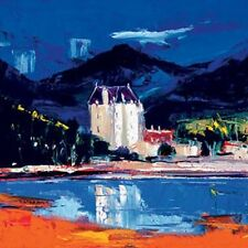 John Lowry Morrison Morning Light Dunderave Castle Limited Edition Print