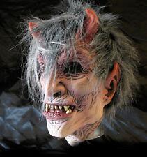 Lucifer Devil Demon Man Scary Adult Halloween Latex Mask