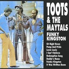 Funky Kingston 2001 by Toots & The Maytals . EXLIBRARY