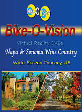 "Bike-O-Vision Cycling in ""Napa & Sonoma Wine Country"" Widescreen DVD"
