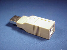 USB A type Male to USB B type Female Adapter