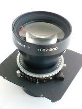 Fuji (Fujinon) T 300mm /f 8.0 lens, Copal shutter, a lens board (700057)