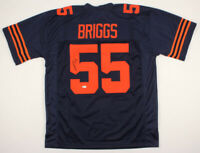 Lance Briggs Signed Chicago Bears Jersey (Beckett COA)