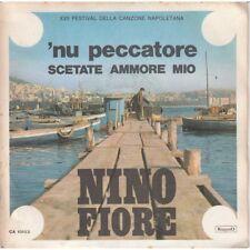 "Nino Fiore 7"" 45 Rpm Nu Sinner / Sadiku Ammore Mio CA10103 New"