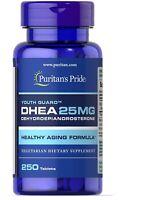 Puritan's Pride DHEA25 mg _250 Tabletten Energrie Libido MOOD & STRESS