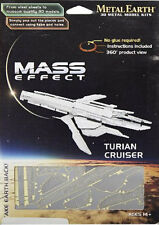 Fascinations Mass Effect Metal Earth 3D Laser Cut 3D Model Kit - Turian Cruiser
