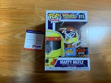 """Funko Pop Signed Michael J. Fox """"Marty Mcfly"""" Back To The Future PSA-IP NYCC D"""