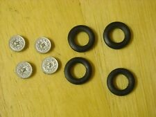 1/43rd scale MGB V8 wheels with tyres by K&R Replicas