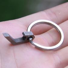 Stainless Steel Beer Bottle Opener Mini Keychain Key Ring Chain Tool Keyring