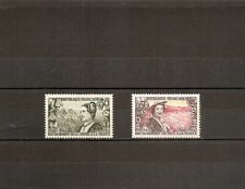 France 1960 SG1476-7 2v M/M Costumes-Savoy and Nice-Attachment to France Centen