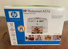 New HP Photosmart A516 Digital Photo Inkjet Printer