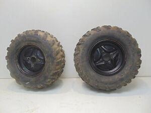 Arctic Cat Prowler 500 2017 Tires Rims Carlisle Trail Pro 25x10-12 Rear