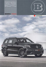 MERCEDES BRABUS TUNING rivista PROSPEKT 2016 con XL 850 WIDESTAR VIP LOUNGE/11