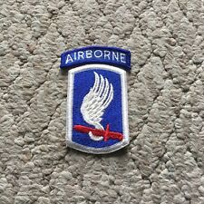 173rd Airborne Brigade Full Color Dress Patch W// Airborne Tab