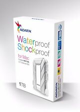 "ADATA HD710A for Mac 1TB Shock Resistant Waterproof 2.5"" External Hard Drive"