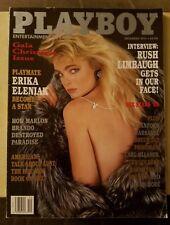 Playboy December 93 Rush Limbaugh Branford Marsalis Marlon Brando Nude Magazine