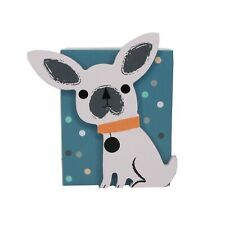 GISELA GRAHAM DOG WOODEN MONEY BOX 9X11X5.5CMS - BOXED