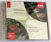 HANDEL G.F. - ORGAN CONCERTOS I - MENUHIN - 2 CD Sigillato